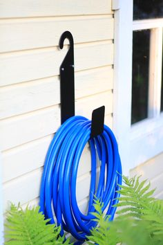The sturdiest Garden Hose Holder You will ever find! Now available in Amazon US.   #finelady #BecomesYou #PracticalityAndBeauty #Garden #gardening #gardenhoseholder #waterhoseholder