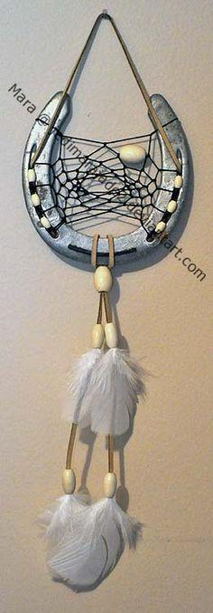 horse shoe dream catcher | Horseshoe Dreamcatcher 13 by ~jedimarajade2 on deviantART