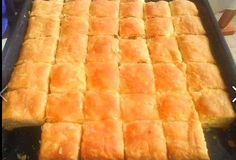 See related links to what you are looking for. Pita Recipes, Greek Recipes, Desert Recipes, Greek Sweets, Greek Desserts, Greek Pastries, Bread And Pastries, Cookie Dough Pie, Cooking Time