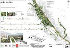 The Madrid Río model is being copied by other cities to regenerate, not always well considered, rivers. Landscape Diagram, Landscape And Urbanism, Park Landscape, Landscape Concept, Landscape Drawings, Landscape Plans, Urban Landscape, Landscape Design, Concept Board Architecture