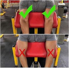 Handy form tip... thanks @apfau! ・・・ I love preacher curls because they really allow you to not use momentum and focus on the contraction in your bicep. However, just because the pad makes it so you can't swing your arms and use momentum, that doesn't mea https://www.musclesaurus.com/