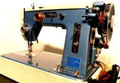 Montgomery Wards Vintage Sewing Machine, made in Japan.