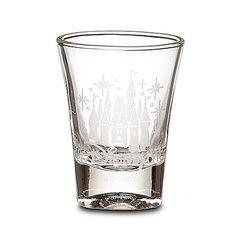 Disney Shot Glass - Etched Cinderella Castle