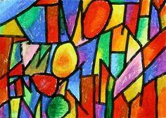 Abstract Name 4th grade art