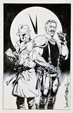 Watchmen -  my two favorites