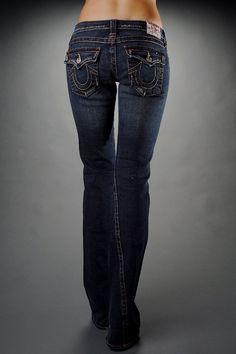 true religion | True Religion Women Jeans Joey 36 Inseam Dark Vintage [ True Religion ...