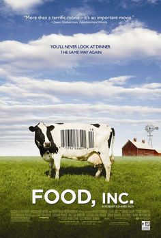 "and when you've watched ""Food Matters,"" watch ""Food, inc."" You will really think twice about what you eat."