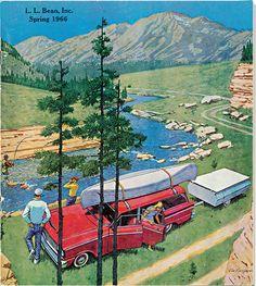 Vintage Cabin, Vintage Travel, Vintage Ads, Vintage Style, Vintage Boots, Vintage Advertisements, Randal, Camping Life, Camping Ideas