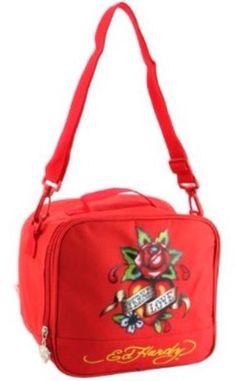 cf74c9fbc5a8 Ed Hardy Red Shal Eternal Love Lunchbox