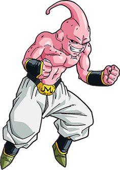 Buu Dragon Ball Z, Majin Boo Kid, Kid Goku, Dbz Characters, Color Tattoo, Akira, Db Z, Pokemon, Hero