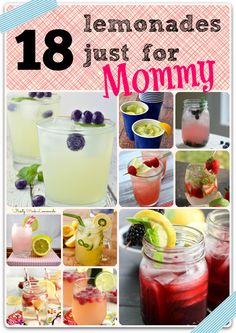 """lemonades just for Mommy - great for """"Girl's Night"""""""