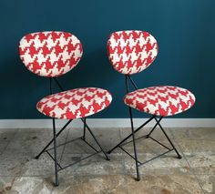 Pair of F+T dinner chairs by Rob Parry, 1950s
