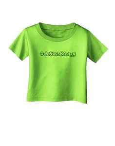 TooLoud Hashtag JeSuisBacon Deco Infant T-Shirt