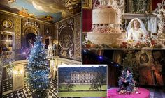 Chatsworth House launches Dickens-themed Christmas display | Daily Mail Online