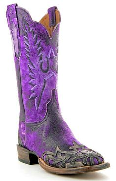 love these purple cowboy boots! Purple Cowboy Boots, Purple Boots, Cowgirl Boots, Western Boots, Ladies Cowboy Boots, Cowgirl Chic, Cowgirl Outfits, Western Wear, Purple Love