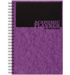 "Buy the new ""Silvine Teacher Academic Plan and Record 5 Period Purple"" online today. Now in stock."