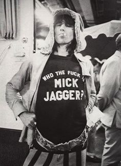 Who the fuck is Mike Jagger