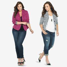 @Torrid Luna Plus Size Fall Blazers! YUM! #PlusSize #Fashion