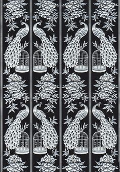 Oriental Bird Cage A4 Paper from The Paper Place