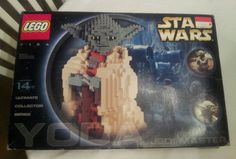 Lego Star Wars Yoda Figure 7194 Complete with Instructions Rare Retired #LEGO