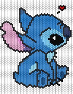 Stitch bead pattern