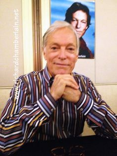 Richard Chamberlain at the Hollywood Show in Los Angeles, July 13 2013