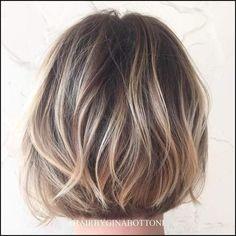 40 On-Trend Balayage Short Hair Looks | Einfache Frisuren
