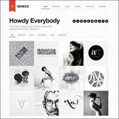 70 Wordpress portfolio themes