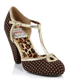 Bettie Page Retro shoes on sale @ zulily!  {24.99}