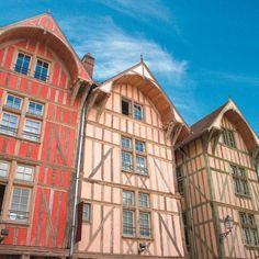 Google Image, Troyes, ses maisons du moyen âge !!!