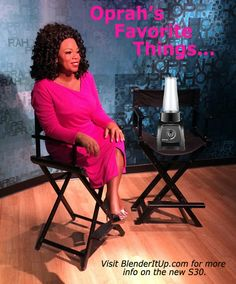 The Vitamix made Oprah's Favorite Things List. Get all of the details on the personal size blenders here. We bet these will become your favorite too. Oprah, Favorite Things