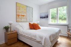 bedroom design in beautiful apartment