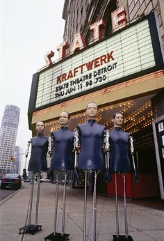My one & only Kraftwerk gig, amazing show. Music Memes, Music Humor, Music Film, Music Icon, Florian Schneider, Tv Movie, Techno House, Music Drawings, Challenges