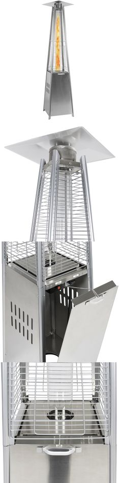 Patio Heaters 106402: Stainless Steel Patio Heater Outdoor Pyramid Propane 42,000 Btu -> BUY IT NOW ONLY: $559.99 on eBay!