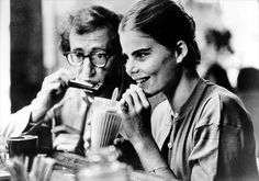 "Isaak (Woody Allen) and Tracy (Mariel Hemingway), in ""Manhattan"", Mariel Hemingway, Margaux Hemingway, Ernest Hemingway, Mia Farrow, Diane Keaton, Martin Scorsese, Stanley Kubrick, Alfred Hitchcock, People"