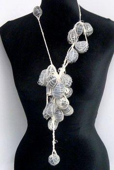 Elizabeth Steiner - pebbles necklace