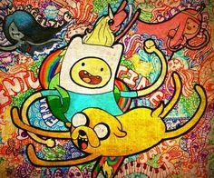 "_wallpaper_Finn and Jacke ❤ """"Adventure time"""""