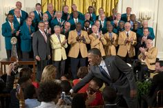 8/20/13  WASHINGTON: 'Perfect Season' Dolphins celebrated by President Barack Obama, White House event — 41 years later - Miami Dolphins - MiamiHerald.com