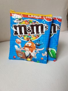 #upcycling m&m Verpackung #nähen