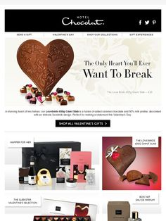 One for the love birds... - Hotel Chocolat