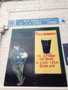 Keltçe bira posteri ve sokak adi. #Celtic #beer poster
