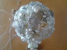 Bouquets photo by Magzie on Weddingbee. Wedding Stuff, Wedding Flowers, Flower Decorations, Real Weddings, Flower Arrangements, Bouquet, Bridal, Inspiration, Biblical Inspiration