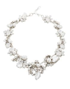 White Wedding Necklace