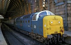 55009 'Alycidon' at Kings Cross on 21st April 1980. (Andy Hoare)