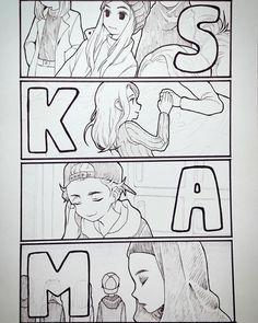 Alt er Love SKAM S3 ISAK & EVEN LIFE IS NOW — Cr:y3o2222 Fans art : : Evak & Eva ,noora &...
