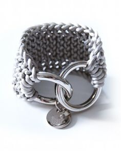 Warm Grey Double Ring
