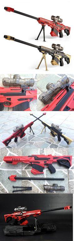 Nerf Gun Strike Darts Sniper Elite Toy Rifle Water Crystal Bullet Light  Barrett