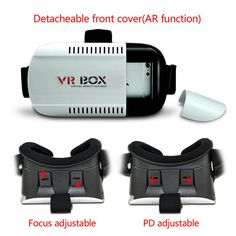 2015 Google Cardboard VR BOX 3D Virtual Reality Glasses