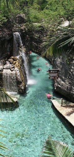 #Floating down the #River of #Xcaret, #Riviera #Maya, #Mexico http://en.directrooms.com/hotels/country/7-88/
