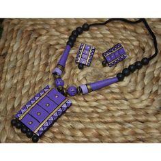TERRACOTTA JEWLLERY - Online Shopping for Necklaces by Prakrithi - Online Shopping for Necklaces by Prakrithi